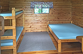 Cabin rentals at Pine Hill RV Park - Kutztown, Pennsylvania