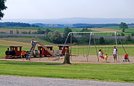 Playground at Pine Hill RV Park - Kutztown, Pennsylvania